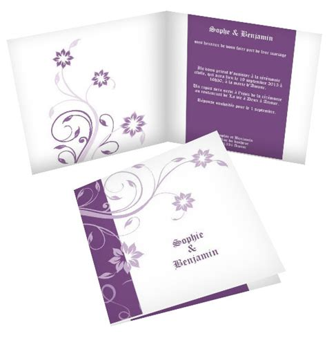 modèle faire part mariage gratuit exemple faire part mariage gratuit a imprimer document