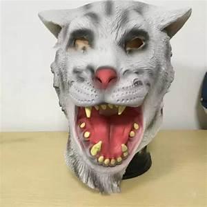 2018, New, Tiger, Mask, Halloween, Horror, Twelve, Zodiac, Animal, Headsets, Cosplay, Party, Amusing, Animal