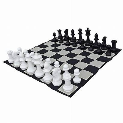 Chess Garden Board Giant King Extra Chessmen