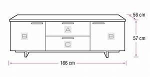 Bdi Avion Noir Ii 8937 Black Tv Cabinet