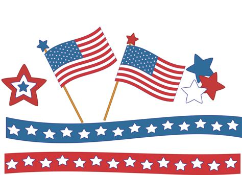 July 4th Clip Best 4th Of July Clipart 6705 Clipartion