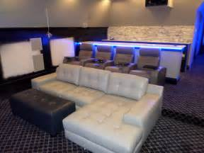 palliser media sectional with 4 palliser home theater