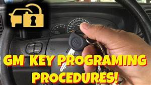How To Program A Gm  Chevy Coded  Anti Theft Key For Free