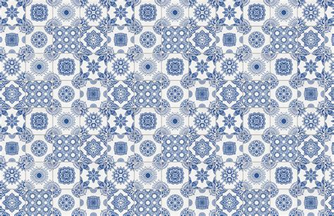 white tile wall white and blue portuguese tiled wallpaper murals wallpaper