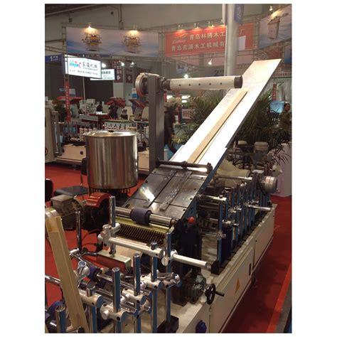 profile wrapping machine  veneer hzh woodworking machinery
