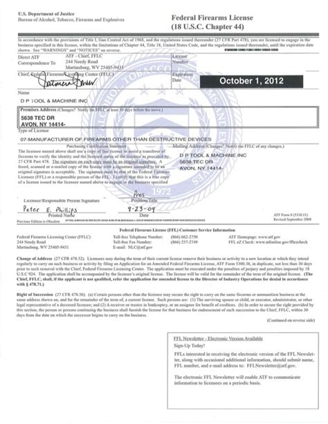 read  federal firearms license