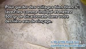 Blanchir Linge Déteint : l 39 astuce pour bien nettoyer des voilages blancs m nage ~ Nature-et-papiers.com Idées de Décoration