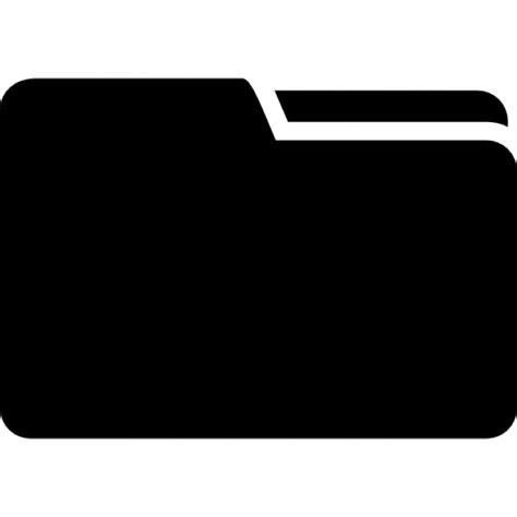 black briefcase icon black folder interface symbol icons free