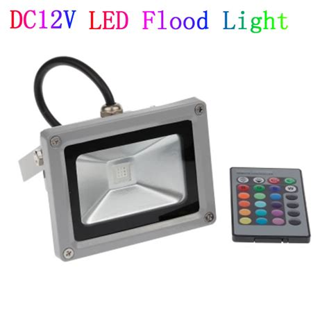 dc 12v 10w 20w 30w 50w led floodlight outdoor spotlight