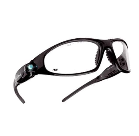 safety glasses with led lights bolle galaxy polycarbonate clear safety glasses with