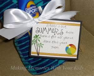 End of Year Teacher Gift Idea