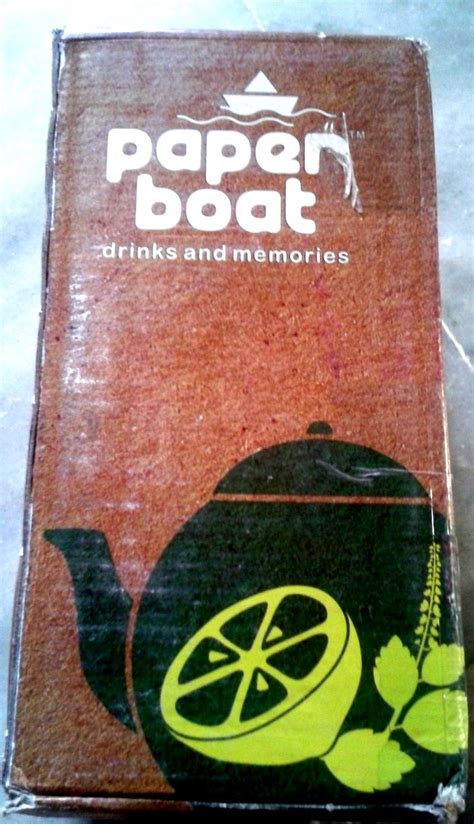 Paper Boat Drinks Manufacturers by The New Tulsi Tea And Lemon Tea From Paper Boat