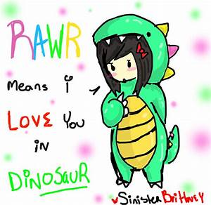 Rawr means I love you in dinosaur by SinisterBrittney on ...