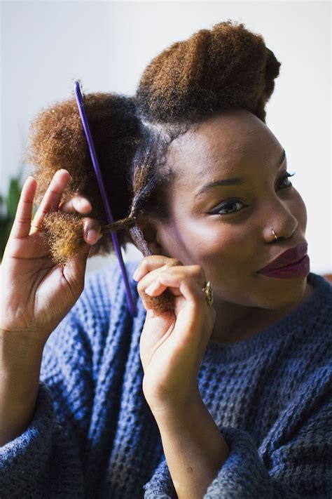 Natural Hair Two Strand Twists ? A Beautiful Mess
