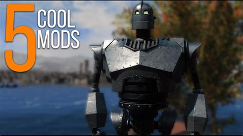 5 Cool Mods Episode 40 Fallout 4 Mods Pcxbox One