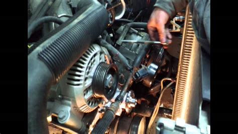 ford ranger  water pump youtube