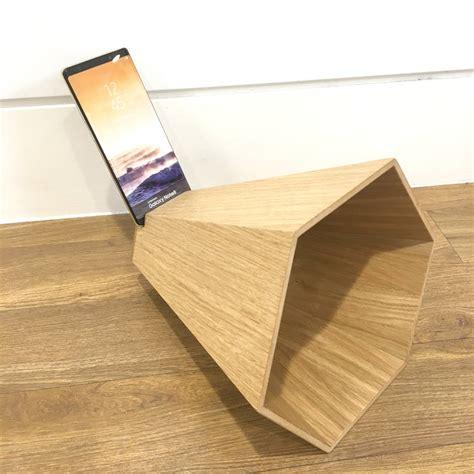 wooden smart phone speaker samsung  james design