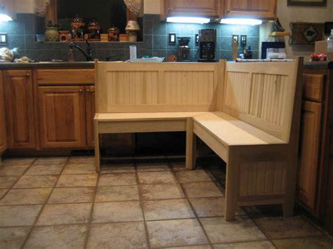 kitchen corner bench   nook  kcraftsman