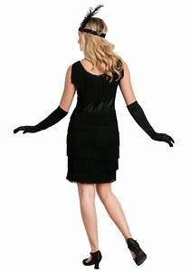 Boa Chart Black Fringe 1920 39 S Flapper Costume
