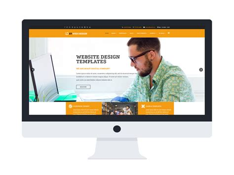 webdesign responsive web design wordpress theme age