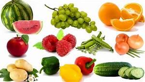 Delightful Fruits And Vegetables Names #4: Kids Learning ...