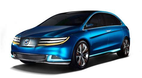 2012 Denza New Energy Vehicle (nev) Concept, Size
