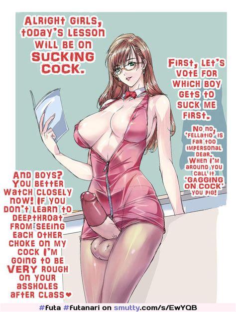 Futa Futanari Dickgirl Captions Futacaptions Anime