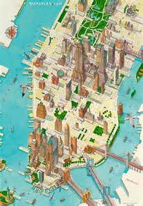 New York Manhattan Tourist Map