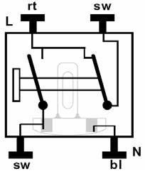Jung Aufputz Schalter : jung 506 kou kontrollschalter mit glimmlampe aus wechsel schalter taster ~ Eleganceandgraceweddings.com Haus und Dekorationen