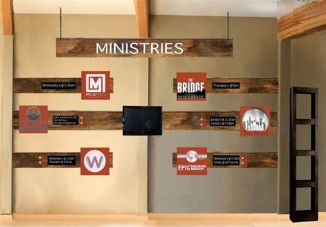 image result  church foyer display ideas church walls