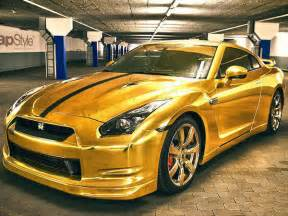 Solid Gold Car