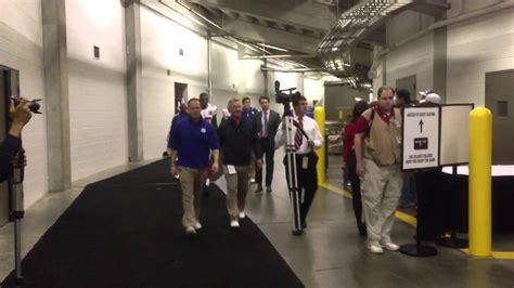 york giants locker room  tunnel processional