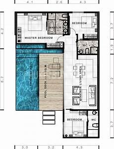 Grundriss Villa Modern : lay4524 tropical modern villa with 3 bedrooms phuket ~ Lizthompson.info Haus und Dekorationen