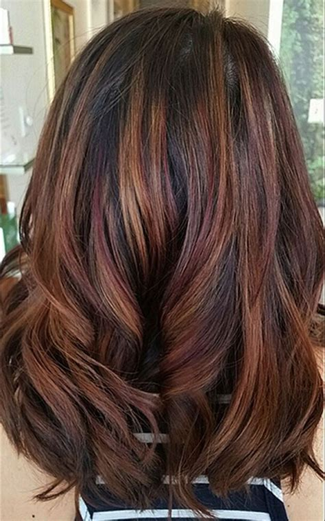 Hair Colour Styles For Hair by Hair Color 2018 Cool Hair Color Ideas To Try In 2018