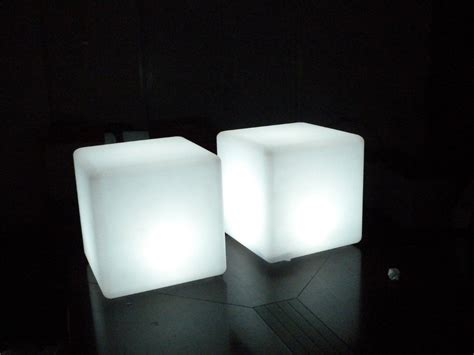 led lighting plastic cube waterproof outdoor buy led