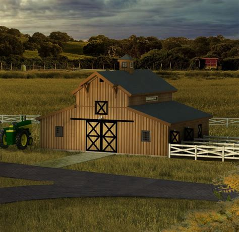 Barn Kits by Pre Designed Wood Barn Kits Sand Creek Post Beam