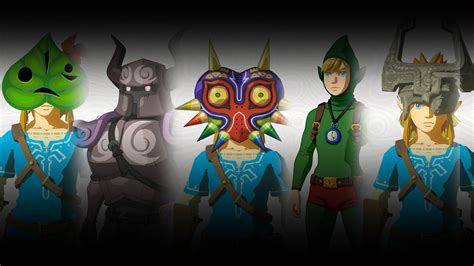 Dlc Zelda Breath Of The Wild Armor Of The Phantom Details Revealed For Breath Of The