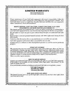 Page 2 Of Cub Cadet Lawn Mower 2135 User Guide