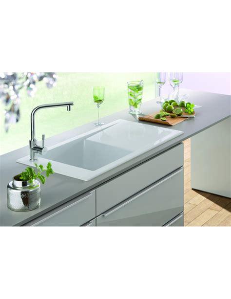 porcelain kitchen sink denby sonnet so1b 1 0 bowl sink white glossy 6925