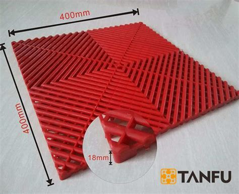 Tanfu Red Good Quality Expo Plastic Flooring For Heli Expo