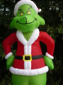 new gemmy 8 grinch lighted christmas airblown inflatable