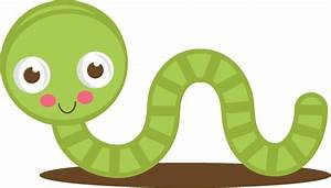 Cute Worm Clipart - Clipart Suggest