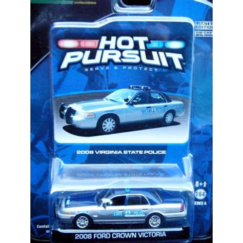 greenlight hot pursuit  virginia state police ford crown