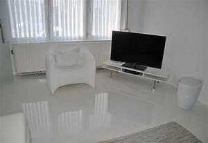 Resine Sol Blanc Brillant : resine epoxy blanc brillant ~ Premium-room.com Idées de Décoration