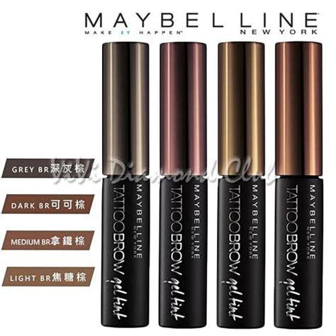 maybelline  york tattoo brow gel tint waterproof eyebrow color tint ml  ebay