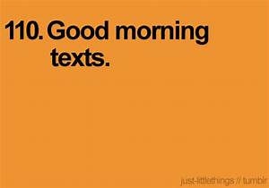 Cute Morning Texts For Him Tumblr   www.imgkid.com - The ...