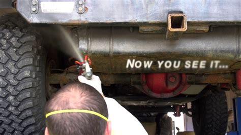 undercoating truck nhou