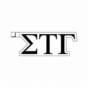 greek letters sigma tau gamma plastic greek letter With plastic greek letters