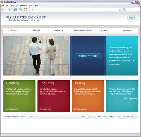 Home Design Websites by Website Homepage Design Defrost Labs