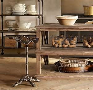 restoration hardware kitchen island for the home